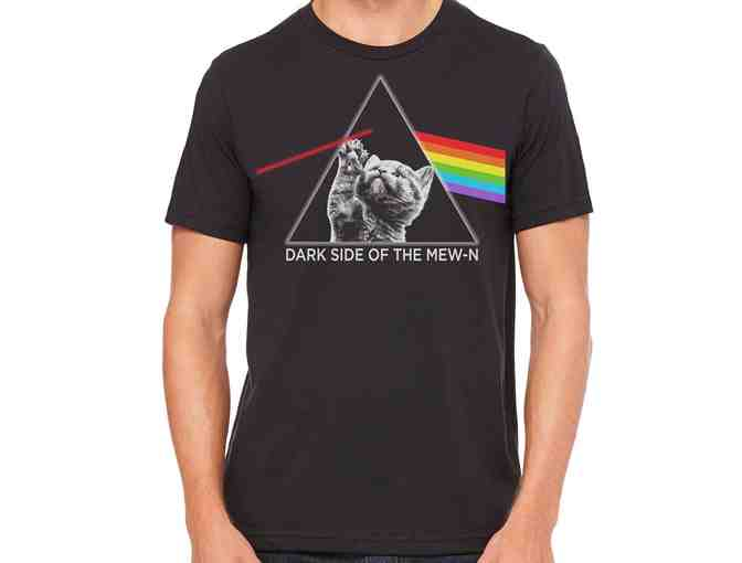 Black 'Dark Side of the Mew-n' T-Shirt Young Adult XL