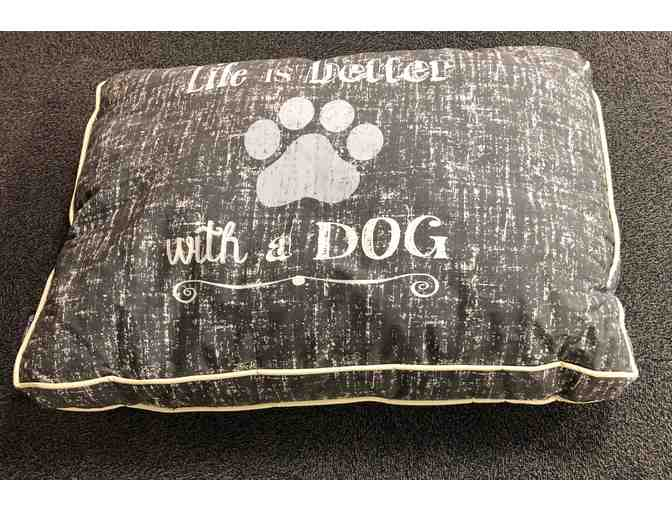 'Life is Better with a Dog' Bed
