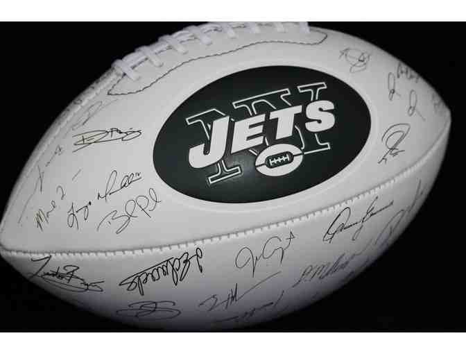 2017 New York Jets Football with Replicated Signatures