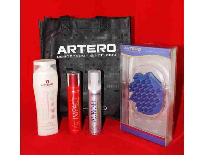Artero Gift Pack - Rubber Mitt, Shampoo, Ear Cleaner, Fragrance (2 of 3)