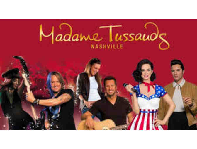Four Tickets to Madame Tussauds Nashville (2 of 2)