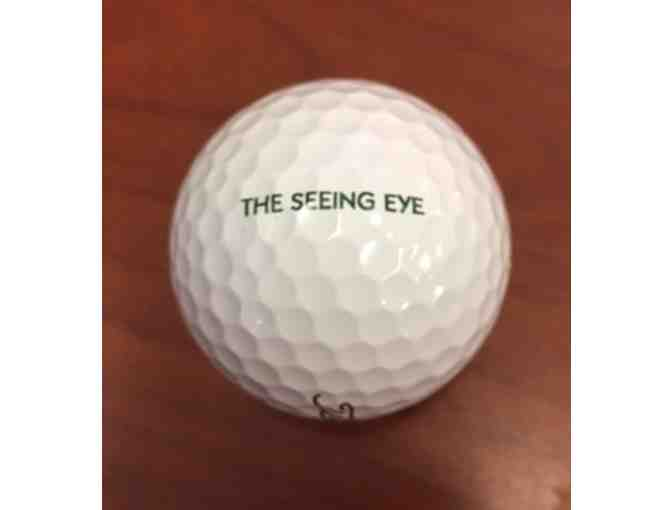 12 Titleist Pro V1 Golf Balls Stamped With The Seeing Eye in Green
