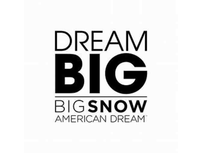 Big Snow at American Dream - 2 Snow Day Package Vouchers - Photo 1