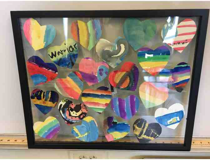 Classroom Treasures - Floating Hearts Art - Mr. O'Connell