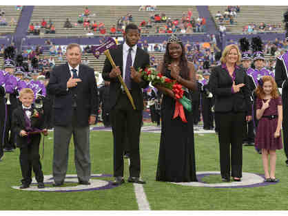 Children of the Court - Crown Bearer at SFA Homecoming 2020