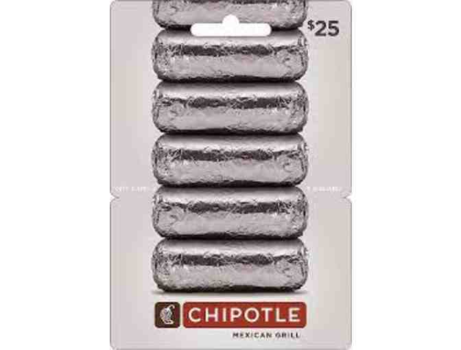 Chipotle $25 gift card - Photo 1