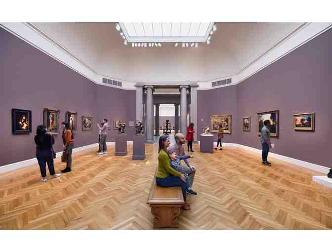 Four passes to the Fine Arts Museums of San Francisco