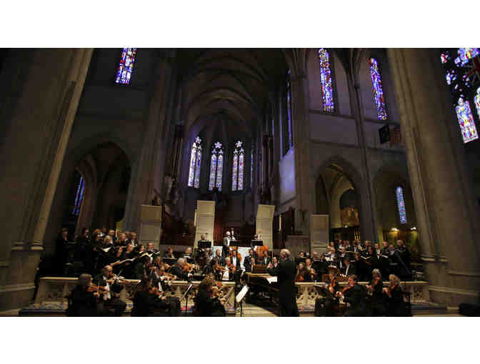 Dinner and Messiah at Grace Cathedral