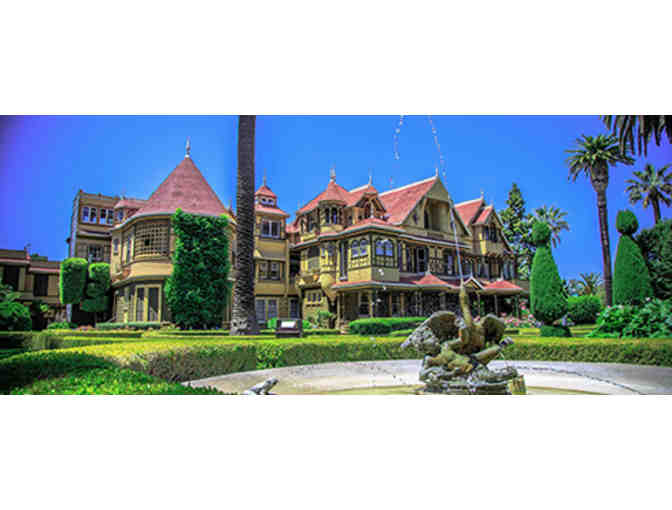 Two Mansion Tour passes for the Winchester Mystery House