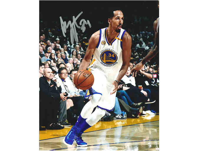 Autographed Shaun Livingston photo