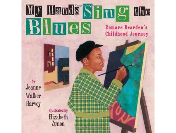 Autographed copy of My Hands Sing the Blues by Jeanne Walker Harvey