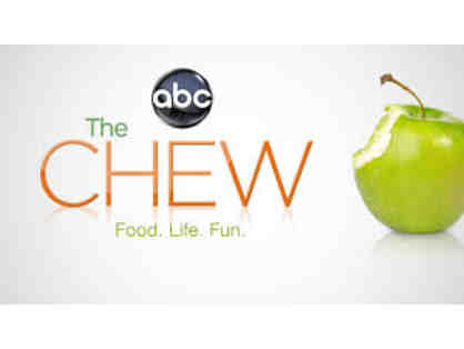 2 VIP tickets to a live taping of ABC's hit show THE CHEW