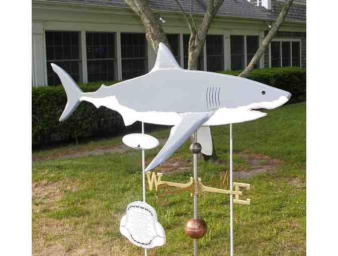 Chatham Wind & Time's Shark in the Park - A working Weathervane! - Photo 1