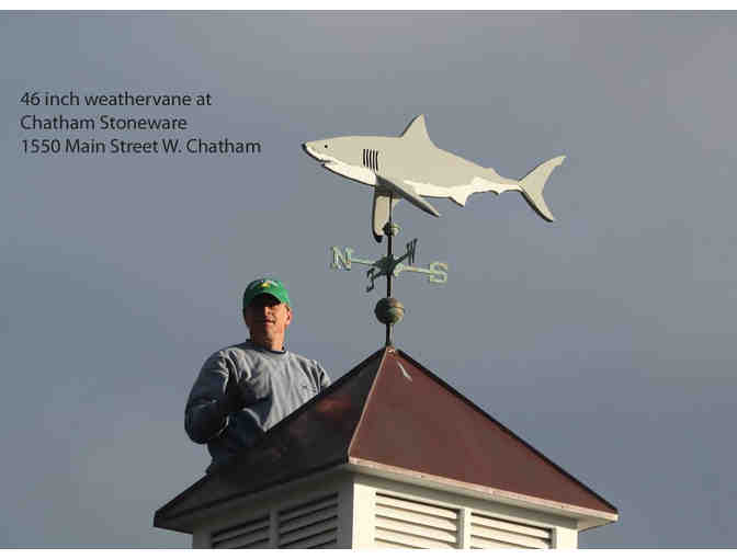 Chatham Wind & Time's Shark in the Park - A working Weathervane! - Photo 2