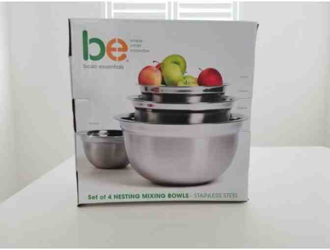 Basic Essentials Set of 4 Nesting Bowls