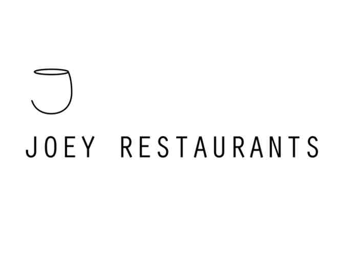 $250 GC for JOEY Restaurants