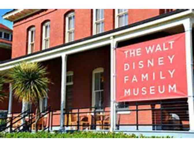 Four General Admission Tickets to Walt Disney Family Museum