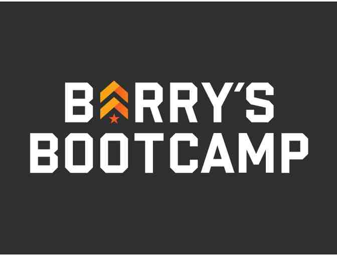 5-Class Package for Barry's Bootcamp