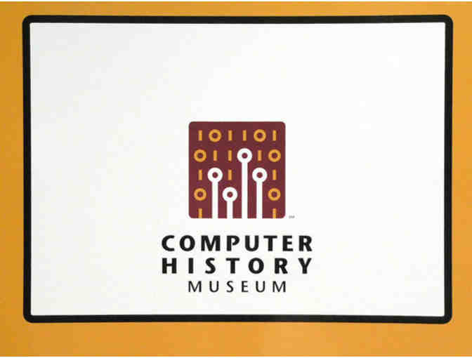 Four General Admission Passes to the Computer History Museum