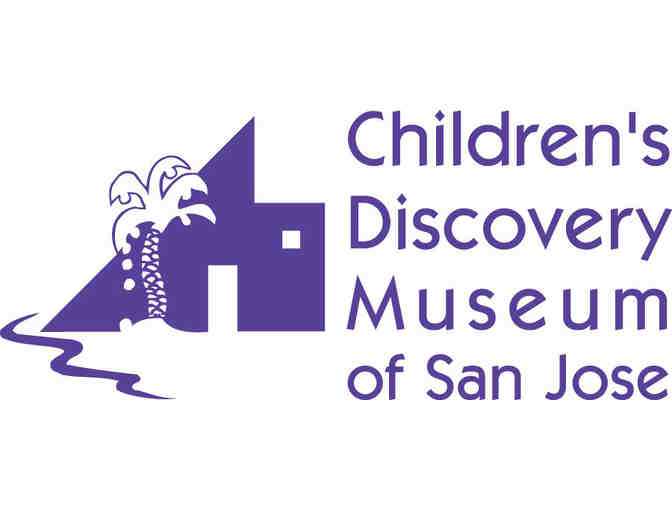 Family Four Pack of Tickets to the Children's Discovery Museum of San Jose
