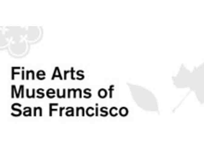 Four VIP General Admission Passes to the Legion of Honor or De Young Museums