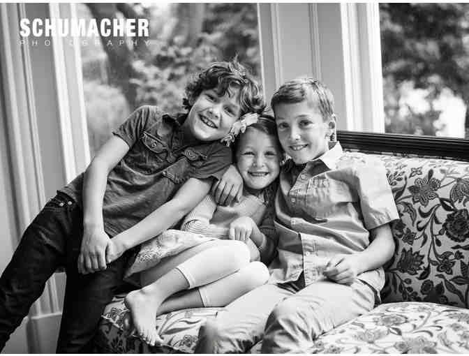 Photography Family Session and Signed Photograph from Schumacher Photography