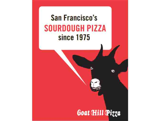 $30 Gift Certificate to Goat Hill Pizza