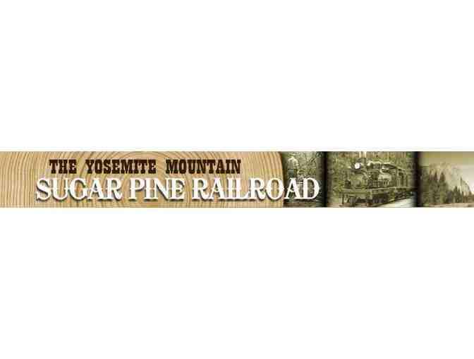 Gift Certificate for 2 Adults and 2 Children on the Yosemite Mountain Sugar Pine Railroad