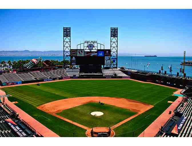 2 San Francisco Giants Lower Box Tickets