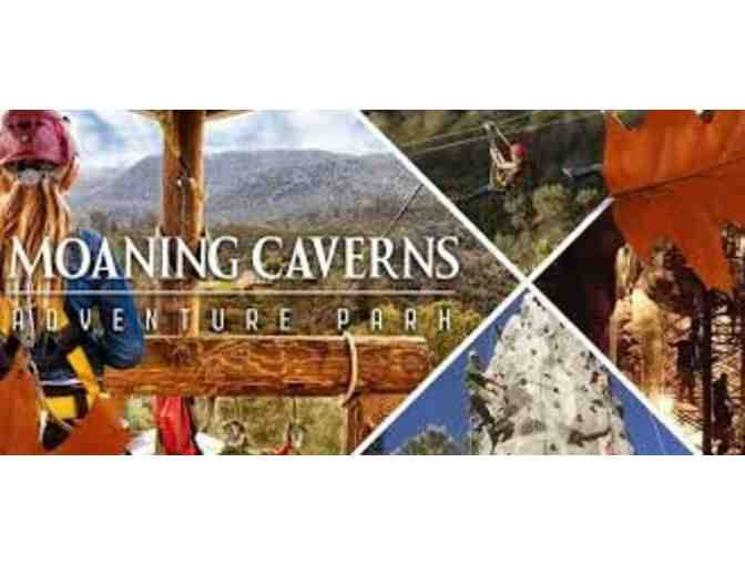 2 Gold Rush Zip Line Rides at Moaning Caverns Adventure Park