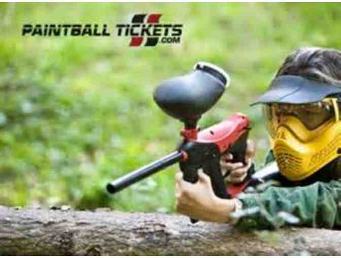 12 Paintball Tickets