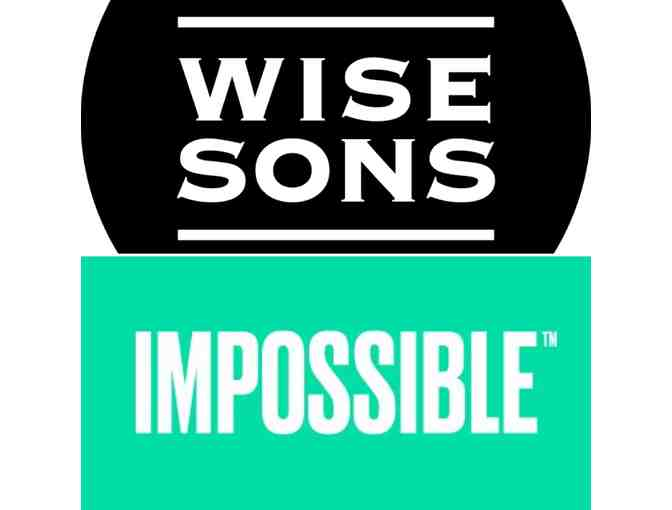 The Impossible Party: Wise Sons Deli Meets Impossible Foods - Fri., Sept. 6, 6:00-9:00 pm