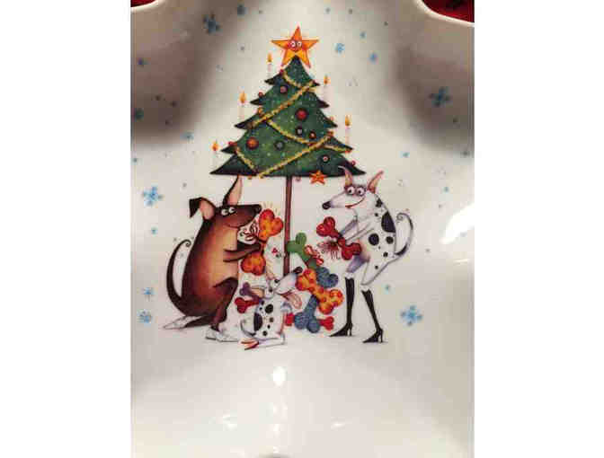 Doggy decorated dish/bowl