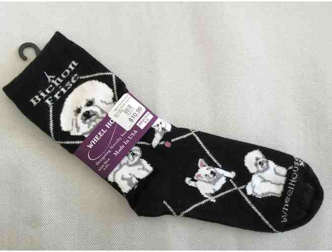 Bichon ladies son - black
