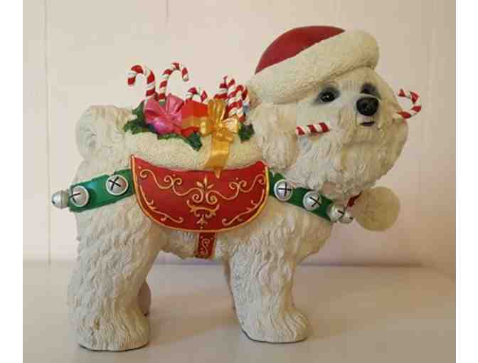 Rare Danbury Mint Christmas Bichon