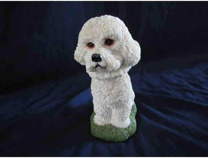 Bichon Bobble Head