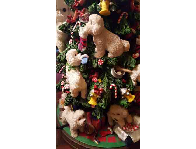 Bichon Frise Christmas Tree - Danbury Mint