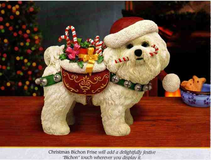 Christmas Bichon Frise - Danbury Mint