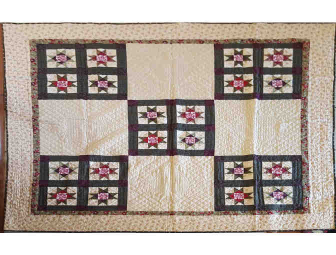 Quilted Throw Cover