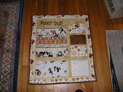 Dog Storage Tapestry