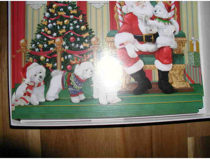 Danbury Mint Bichon Christmas Cards