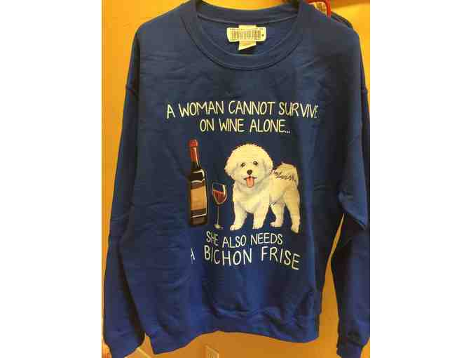 Woman Cannot Survive......Sweatshirt - Size Large