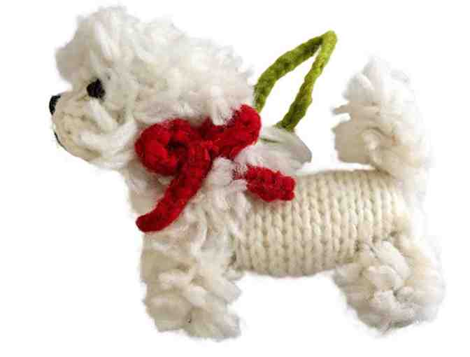 Wooly Bichon Ornament