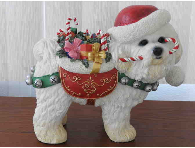 Danbury Mint Christmas Bichon Frise