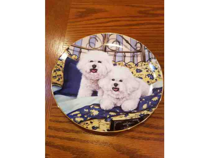 Danbury Mint - Cuddle Up plate