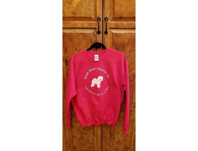 Small Paws Sweat Shirt - Size Large