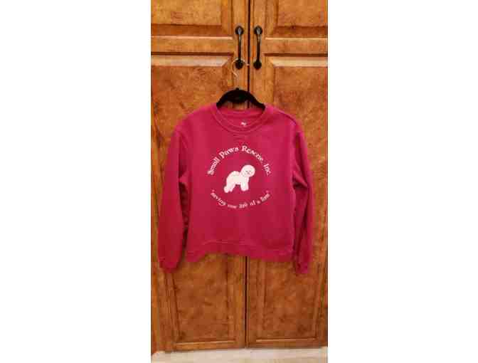 Small Paws Rescue sweatshirt - Kids size.