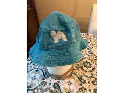 Embroidered Bichon Bucket Hat