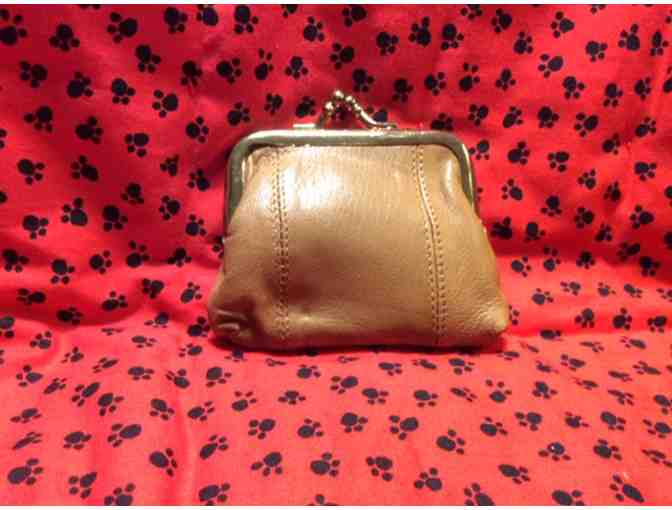 Adorable Westie Leather Coin Purse