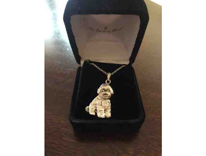 Danbury Mint Bichon necklace